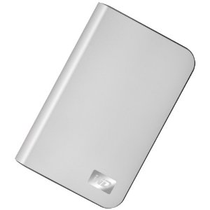 WESTERN DIGITAL TECH Drive,320GB,USB 2.0,External Hard Drive- Silver Formatted for MAC