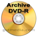 Archive DVD-R from MAM-A