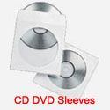 CD DVD Paper and Tyvek Sleeves