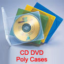 CD DVD Poly Cases