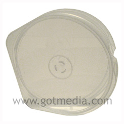 CD DVD Poly S-Case - Holds 1 disc