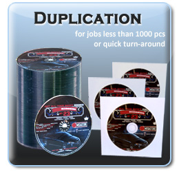 Custom DVD and CD Duplication Services