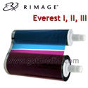 Everest CMY 3 color ribbon - 1 Pack