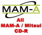 Full line of MAM-A CD-R