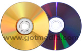 MAM-A Inkjet Printable Gold DVD-R