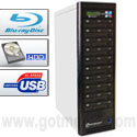 Microboards CopyWriter Blu-ray Tower Duplicators - 10 Drive Recorder