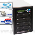 Microboards CopyWriter Blu-ray Tower Duplicators - 4 Drive Recorder