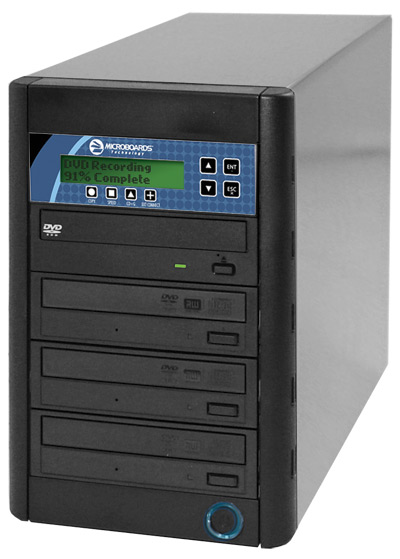 Microboards CopyWriter Premium CD/DVD Pro Manual Duplicators - 3 Drive Recorder