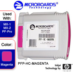 Microboards MX-1, MX-2, PF-Pro Magenta Ink Cartridge - PFP-HC-MAGENTA