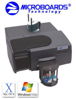 Microboards MX-1 (MX1-1000) and MX-2 (MX2-1000) CD DVD Disc Publisher