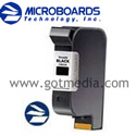 Microboards Print Factory Black Ink Cartridge - 1 pack