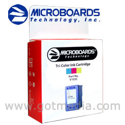 Microboards Print Factory III OR CX-1 color Ink Cartridge, V102C
