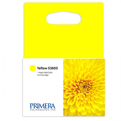 Primera Yellow Ink Cartridges 4100 Series, 53603