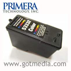 Primera Bravo SE CMY Color Ink Cartridge, 53332