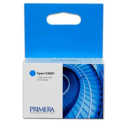 Primera Cyan Ink Cartridges 4100 Series, 53601