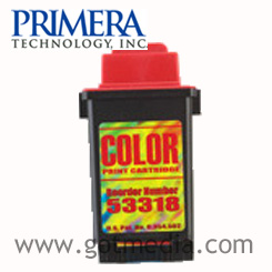 Primera Signature III or IV Color Ink Cartridge, 53318