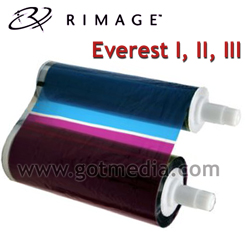Rimage Everest 4 color CMY-W Thermal Ribbon 203639-001