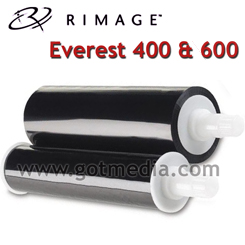 Rimage Everest 600 Black Ribbon, OEM Ribbon, 2002160