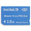 SanDisk 2GB Memory Stick Pro Duo - SDMSPD-2048-A11