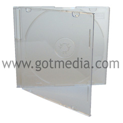Slim Jewel Case, 5.2mm, Frosty Clear