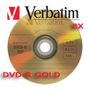 Verbatim UltraLife DVD-R 8X, 4.7GB Gold Archive w/ Jewel Case - 96320