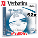 Verbatim MediDisc CD-RBranded Surface Thermal Printable