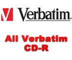 Complete line of Verbatim CD-R