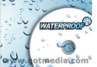 waterproof DVD Media
